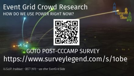 CCCamp19 Infobeamer Survey Eventgrid